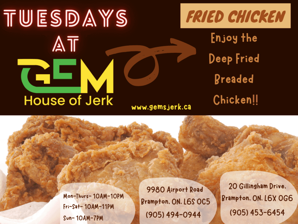 Tuesdays Special - Fried Chicken