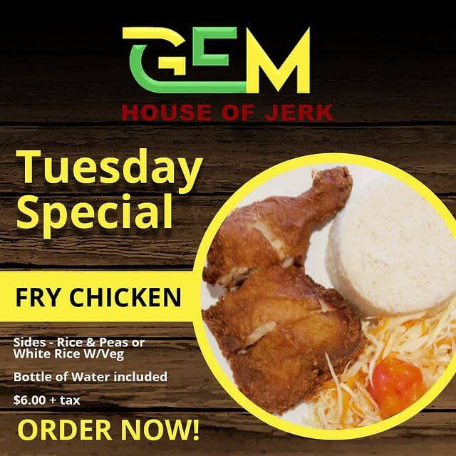 Tuesday Special - Fry Chicken